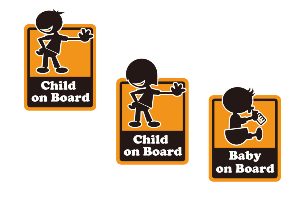 Baby&child onBoard ステッカー