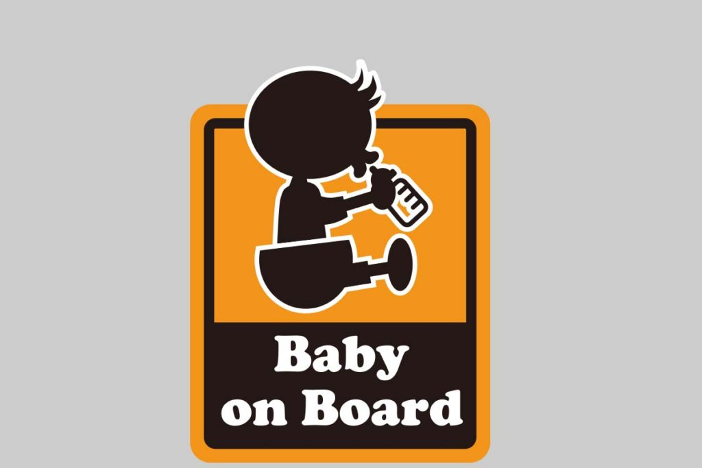Baby&child onBoard ステッカー-1