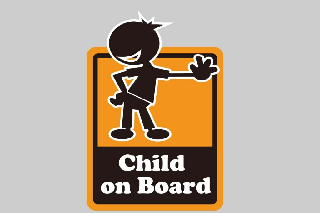 Baby&child onBoard ステッカー-2