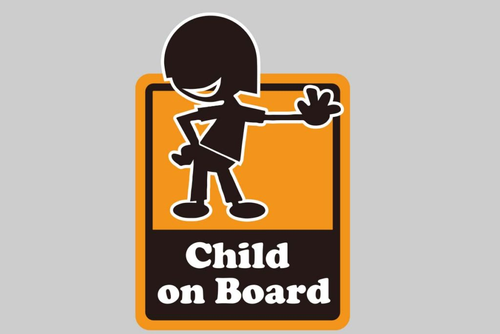 Baby&child onBoard ステッカー-3